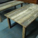 grenen tafels oud hout